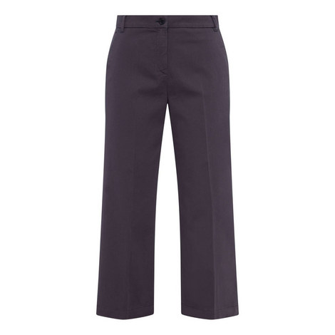 Dudy Cropped Wide Leg Trousers, ${color}