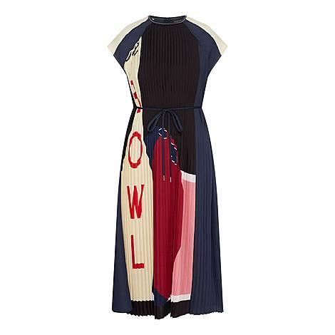 Bowling Print Dress, ${color}