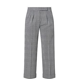 Erice Check Trousers