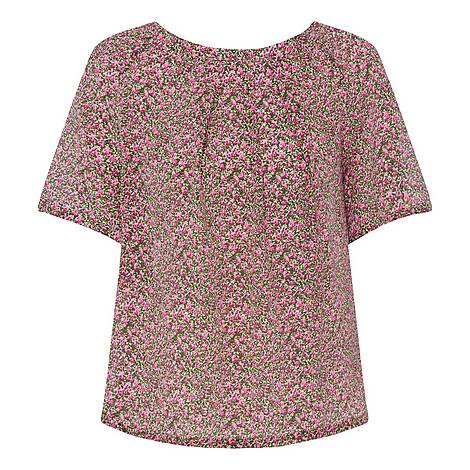Fiore Floral Top, ${color}