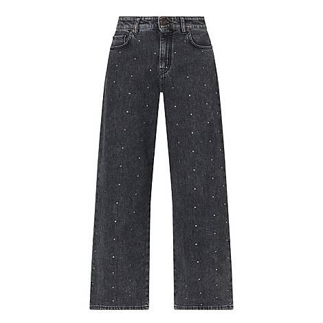 Full Embellish Wide Fit Jeans, ${color}