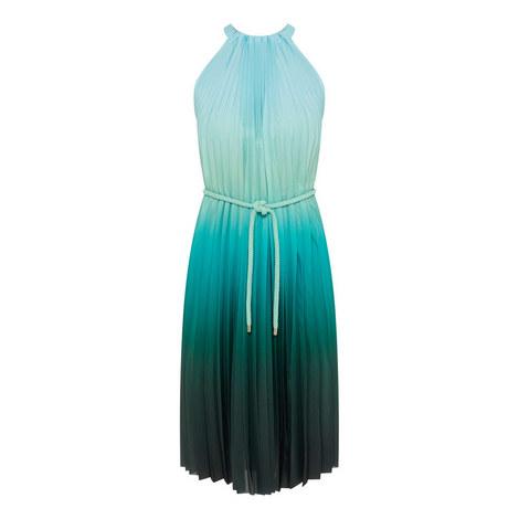 Fuxia Ombré Halter Dress, ${color}