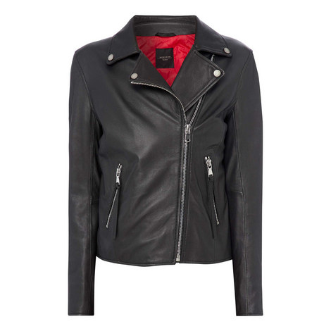 Tasselled Nappa Leather Jacket, ${color}