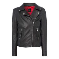 Tasselled Nappa Leather Jacket