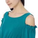 Kapok Cold Shoulder Dress, ${color}