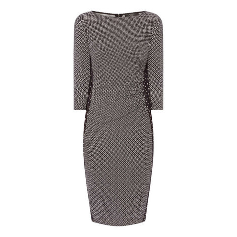 Kriss Printed Jersey Dress, ${color}