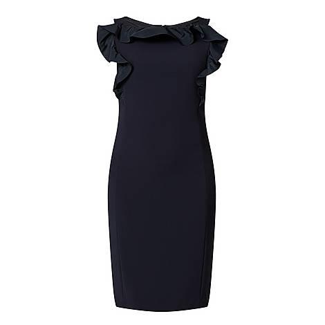Lastra Taffeta Dress, ${color}