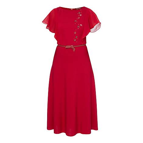 Limone Ruffle Dress, ${color}