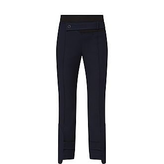Contrast Waist Trousers