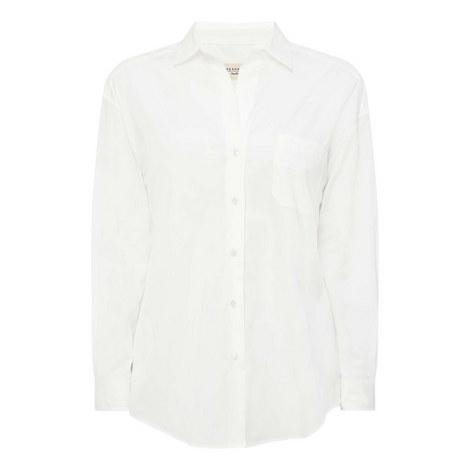 Oversized Cotton Shirt, ${color}