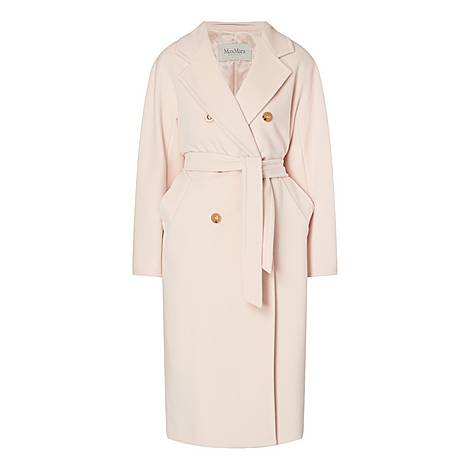 Madame Double-Breasted Coat, ${color}