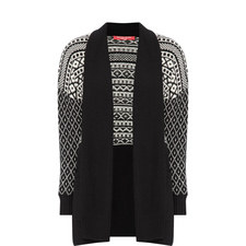 Knitted Front-Open Cardigan