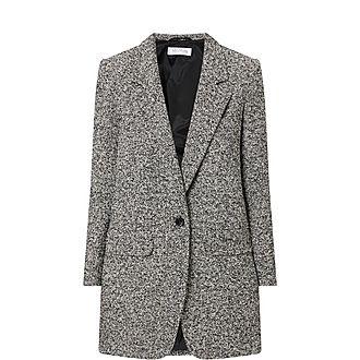 Matassa Wool Tweed Coat