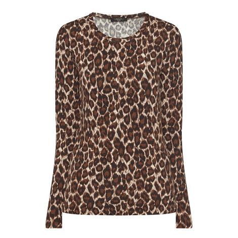 Leopard Print Top, ${color}