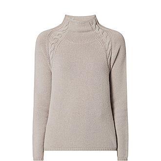 Narvel Cashmere Turtleneck Sweater