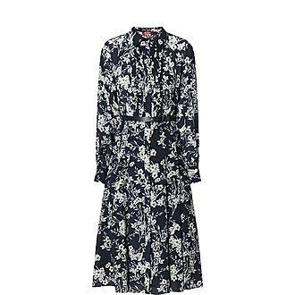 Nizza Floral Printed Shirt Dress
