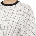 Nora Check Print Shirt, ${color}
