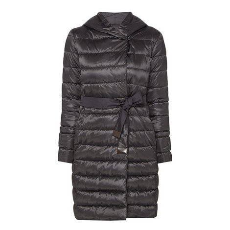 Novef Reversible Long Quilted Coat, ${color}