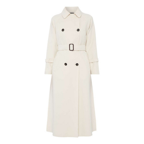 Odio Wool Trench Coat, ${color}