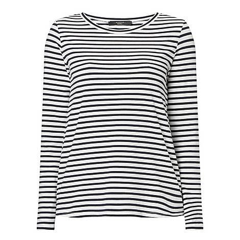 Oria Stripe T-Shirt, ${color}