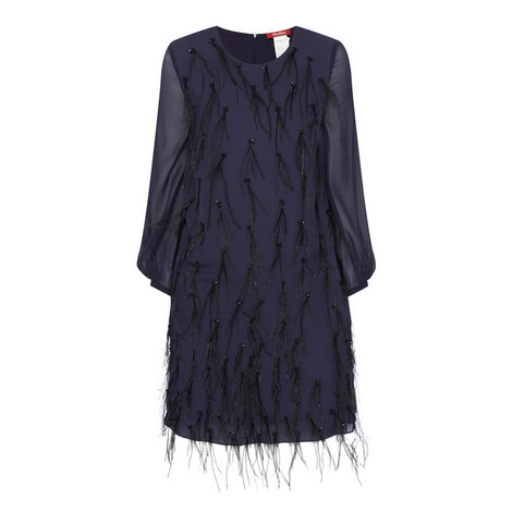 China Feather Dress, ${color}