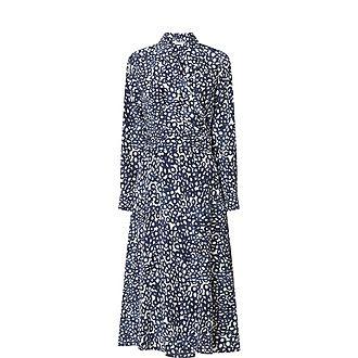 Ravel Silk Wrap Dress