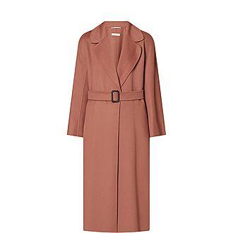 Reus Belted Wrap Coat