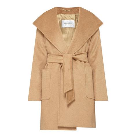 Rialto Short Wrap Coat, ${color}