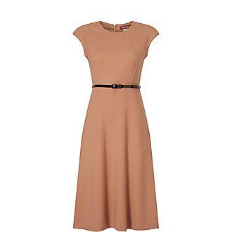 Cap Sleeve Midi Dress
