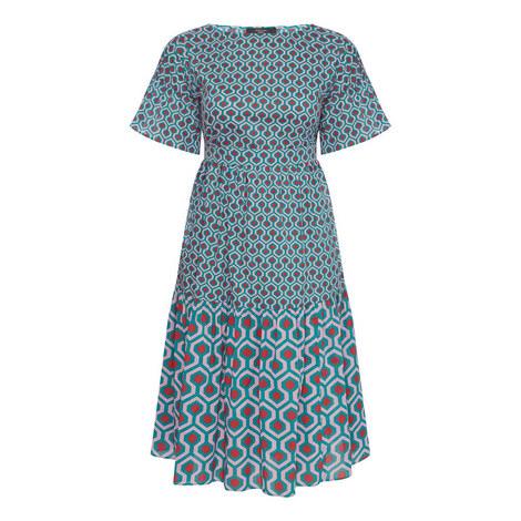 Sansone Geometric Print Dress, ${color}