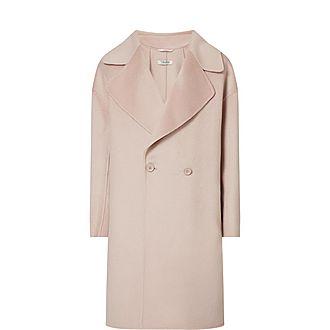 Savana Wool-Cashmere Blend Coat