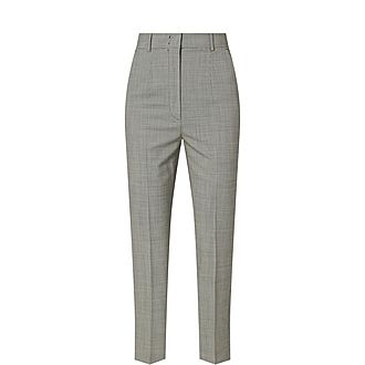 Scacco High Waist Trousers