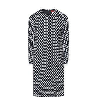 Sila Geometric Print Dress