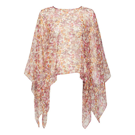 Tasto Floral Print Shawl, ${color}