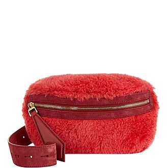 Teddy Faux Fur Belt Bag