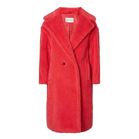 Teddy Faux Fur Coat, ${color}