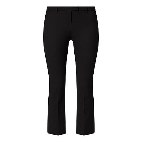 Umanita Cropped Kick Trousers, ${color}