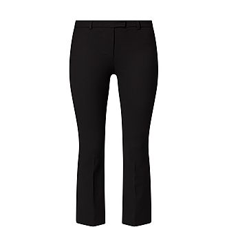 Umanita Cropped Kick Trousers