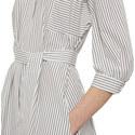 Urbano Stripe Shirt Dress, ${color}