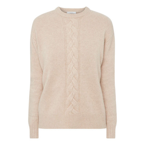 Veggia Cable Knit Sweater, ${color}