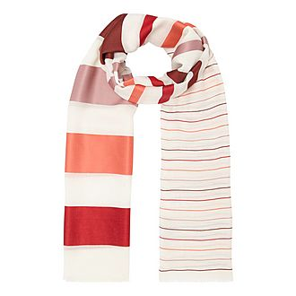 Verbas Voile Stripe Scarf