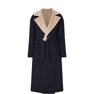Zibetto Reversible Wool Coat