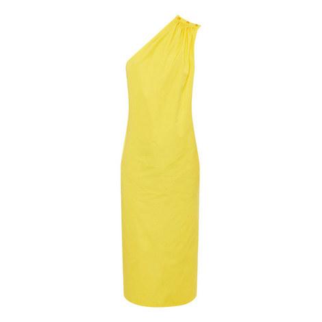 Zigrino One Shoulder Dress, ${color}