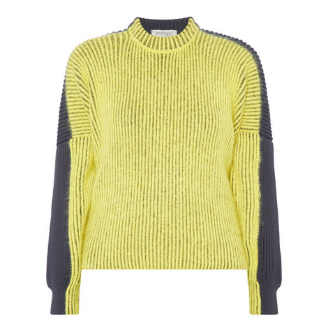 Ribbed Knit Sweater, ${color}