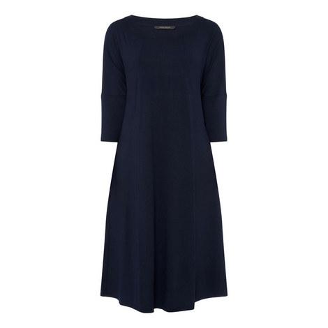 Long Sleeve Jersey Dress, ${color}
