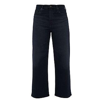 Etta Cropped Wide Fit Jeans