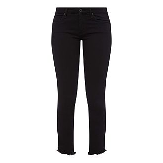 Prima Frayed Ankle Jeans
