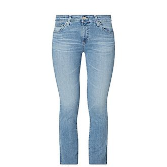 Mari High-Rise Straight Fit Jeans