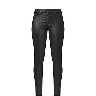 Farrah Coated Jeans