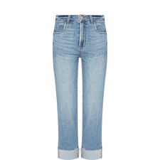 Sara High-Rise Straight Fit Jeans